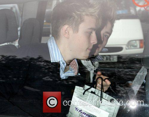 Arrive at a studio for rehearsals