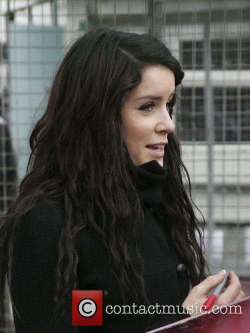 X Factor Finalist - Lucie Jones arrive at...