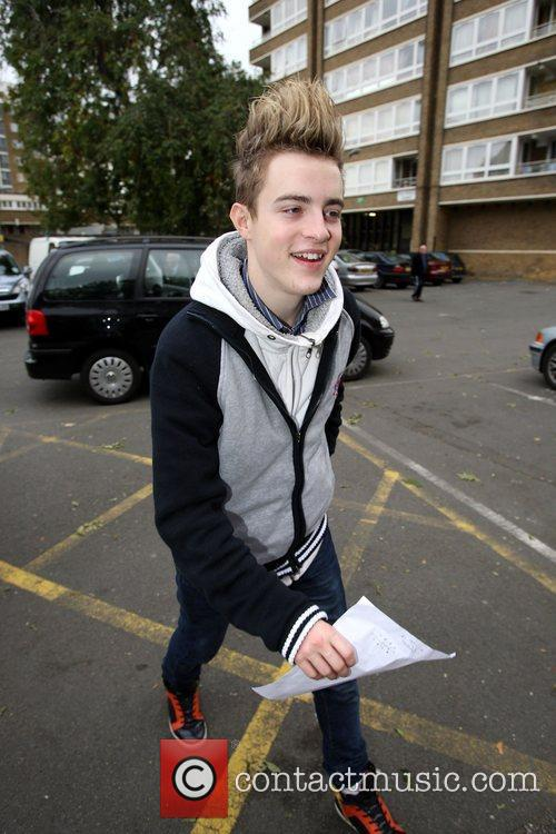 John Grimes arrives at a studio for rehearsals...