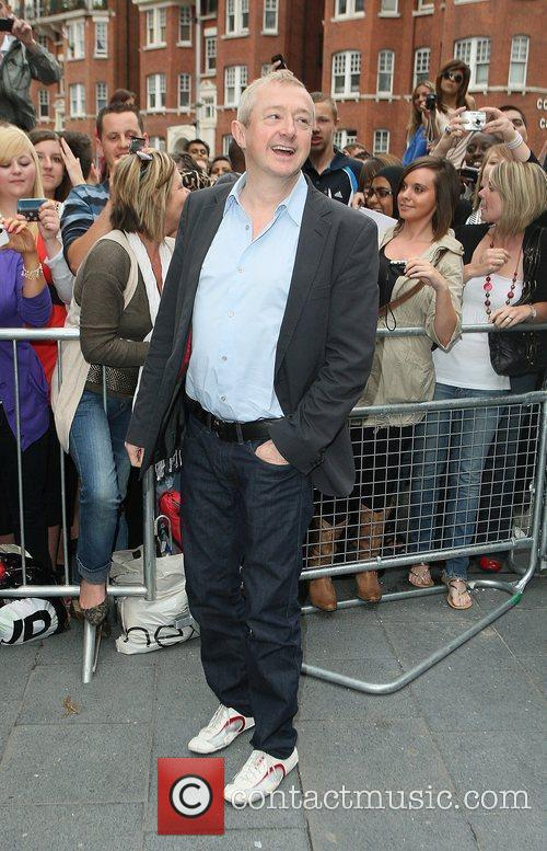 Louis Walsh arrives at the 'X Factor' bootcamp,...