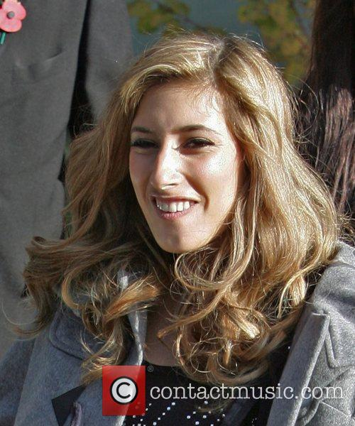 X Factor Finalist - Stacey Solomon outside the...