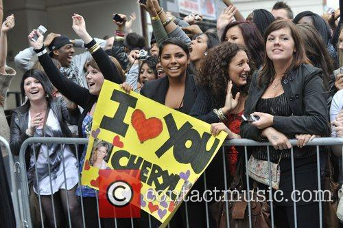 A Massive Crowd Turns Up To See The Judges Arrive For The Final Day Of 'x Factor' Bootcamp 2