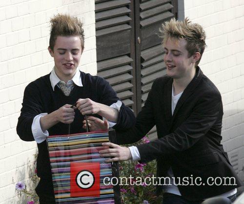 X Factor Finalists - John Grimes and Edward...