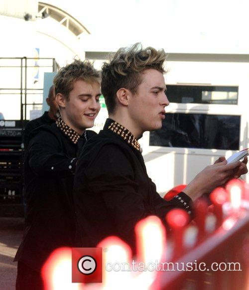 John Grimes and Edward Grimes arrive to record...