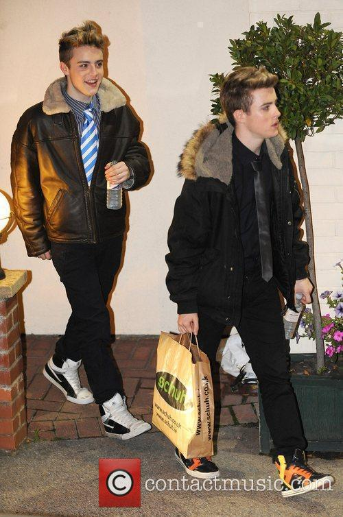 John and Edward Grimes leave the X Factor...