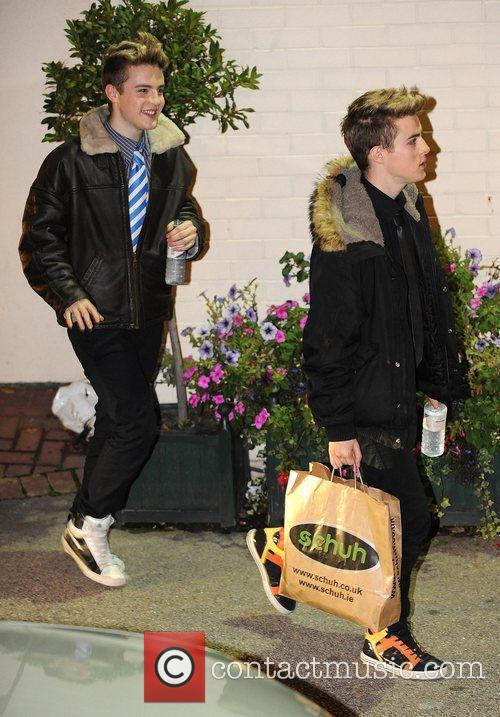 Leave the X Factor studios after the first...