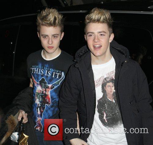 Jedward and Michael Jackson 1