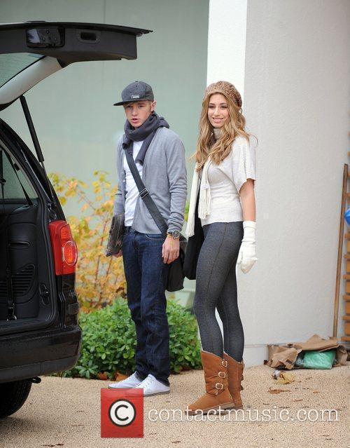 Leaving the X Factor house