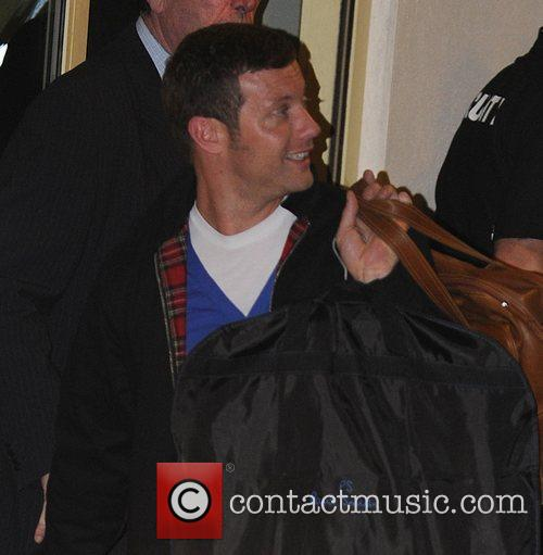Leaving the X Factor studios