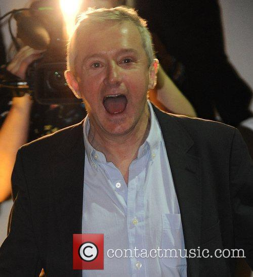 Louis Walsh leaving the X Factor studios London,...
