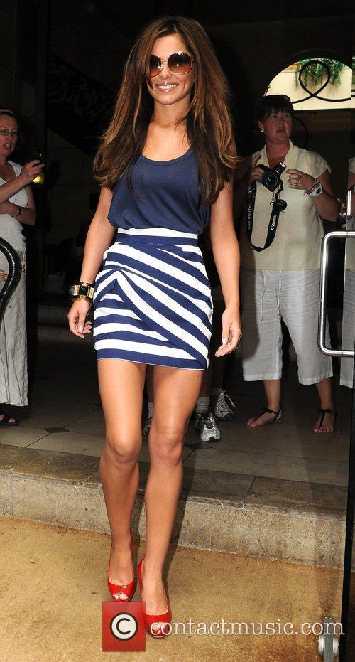 Cheryl Cole Leaving Her Hotel 2