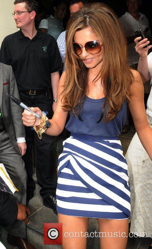 Cheryl Cole Leaving Her Hotel 7