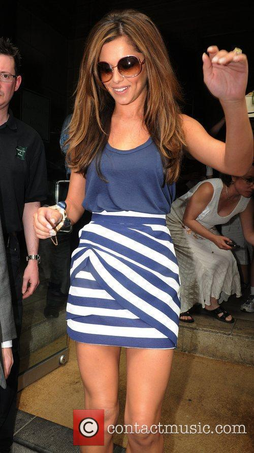 Cheryl Cole Leaving Her Hotel 5