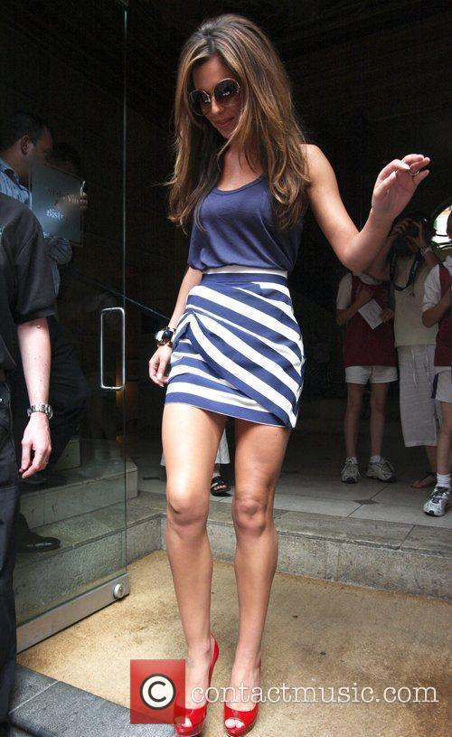 Cheryl Cole leaving her hotel 12