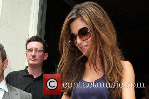 Cheryl Cole leaving her hotel 18