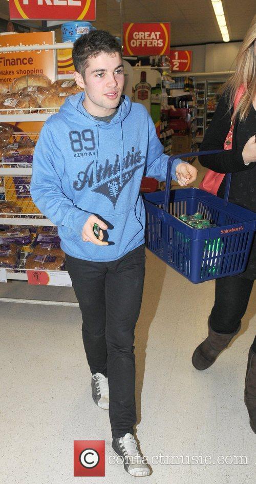 Shopping at Sainsburys