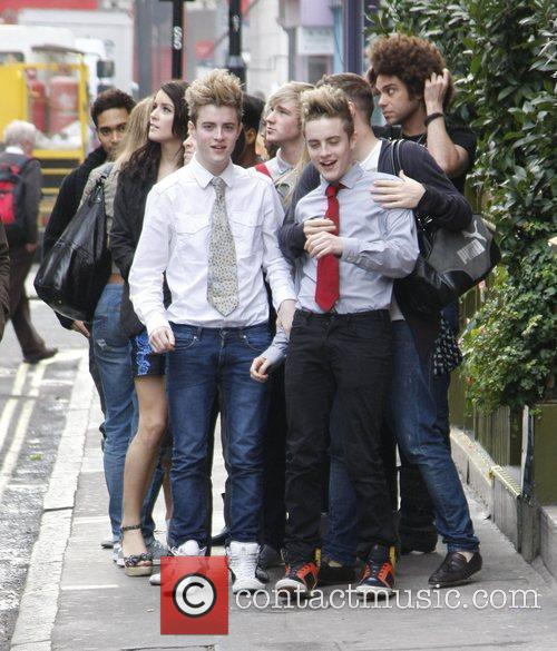The 'X Factor' contestants are seen going to...