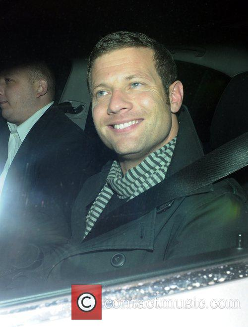 Leaving the The X Factor studios