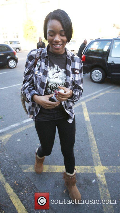 X Factor finalist Rachel Adedeji arrives at the...