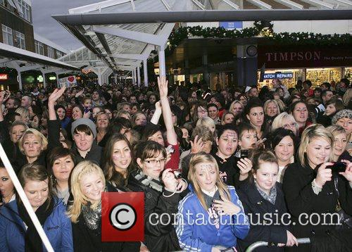 Christmas Lights switch on ceremony at the Yates...