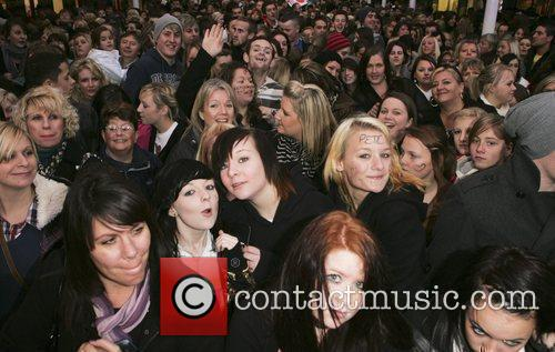 Atmosphere Christmas Lights switch on ceremony at the...