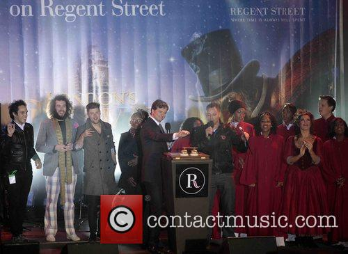 Christmas Lights 'Switch On' in Regents Street
