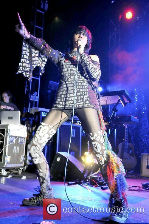 Yeah Yeah Yeahs performing live O2 Academy Leeds