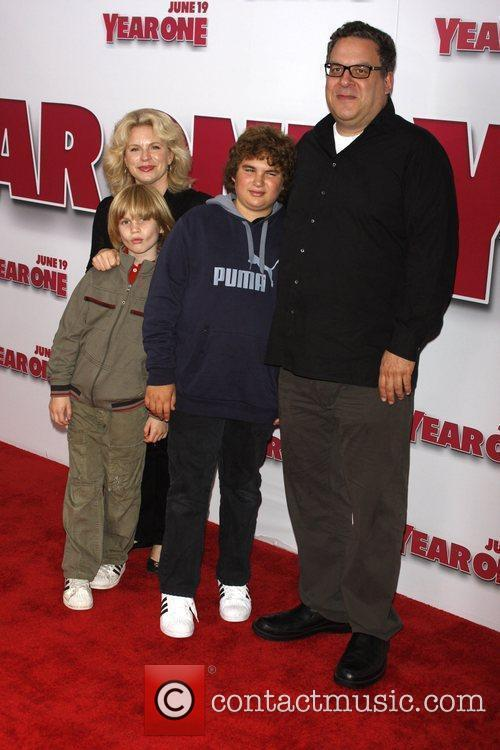 Jeff Garlin and Family 7