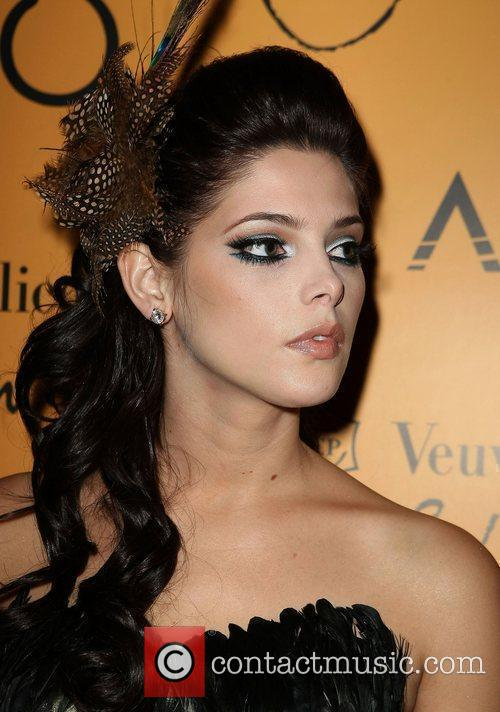Ashley Greene Veuve Clicquot's Yelloween hosted by Ashley...