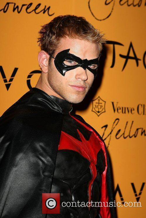 Kellan Lutz Veuve Clicquot's Yelloween hosted by Ashley...