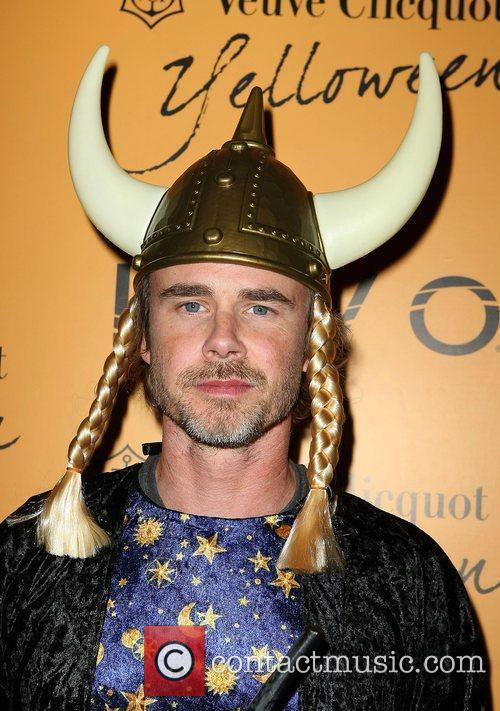 Sam Trammell Veuve Clicquot's Yelloween hosted by Ashley...