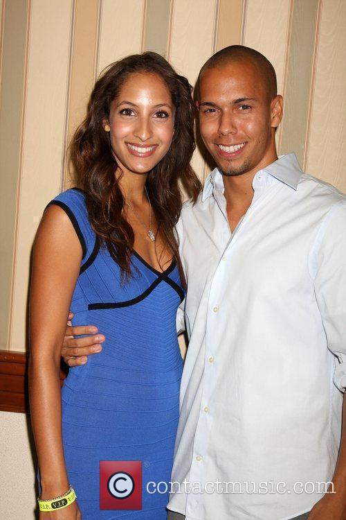 Christel Khalil and Bryton James The Young &...