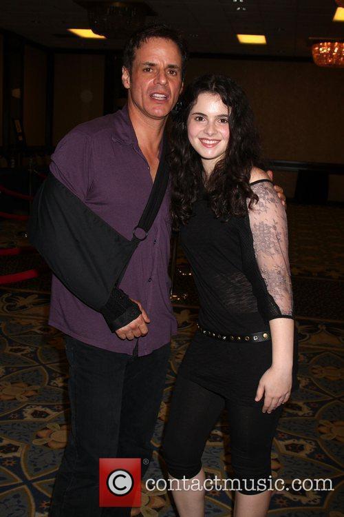 Christian LeBlanc and Vanessa Marano The Young &...