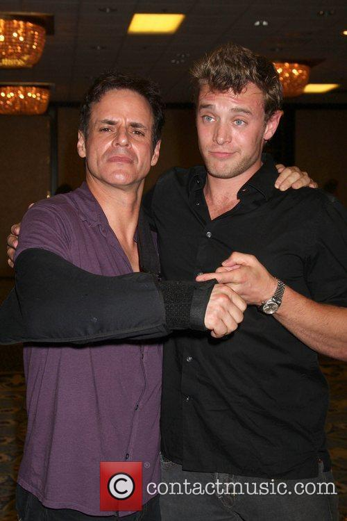 Christian LeBlanc and Billy Miller  The Young...