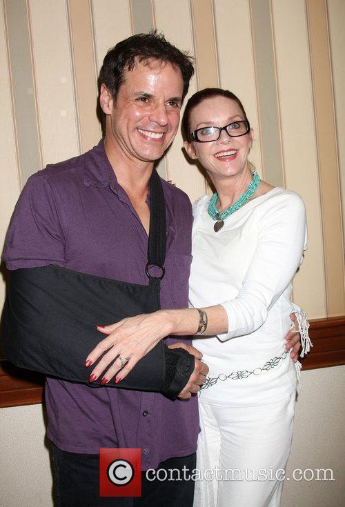 Christian LeBlanc and Judith Chapman The Young &...
