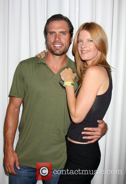 Joshua Morrow and Michelle Stafford 2