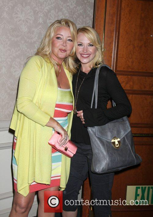 Melody Thomas Scott and Adrienne Frantz The Young...