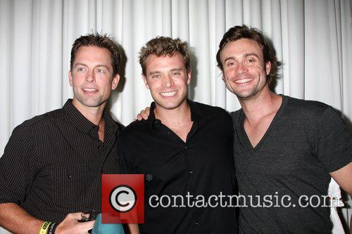 Michael Muhney, Billy Miller and Daniel Goddard The...