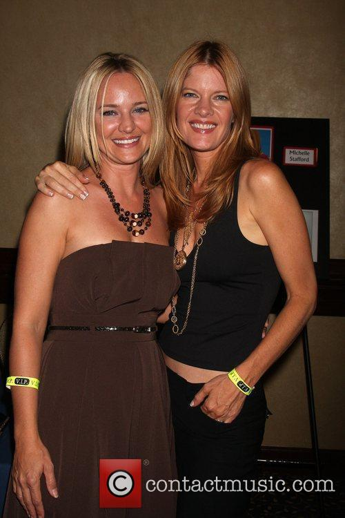Sharon Case and Michelle Stafford The Young &...