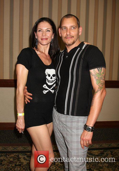 Stacy Haiduk and Bradford Tatum The Young &...