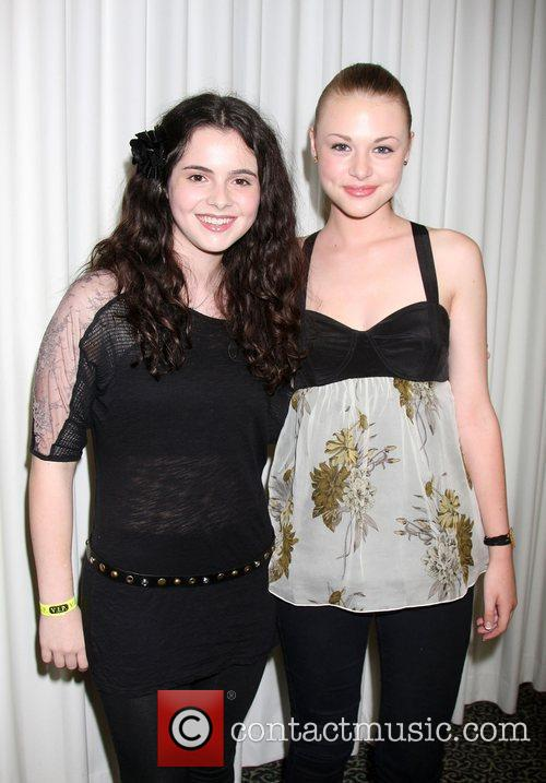 Vanessa Marano and Hayley Erin The Young &...