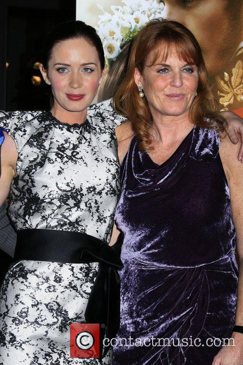 Emily Blunt and Producer Duchess Of York Sarah Ferguson 3