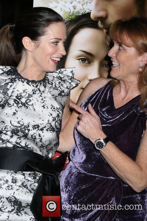 Emily Blunt and Producer Duchess Of York Sarah Ferguson 6