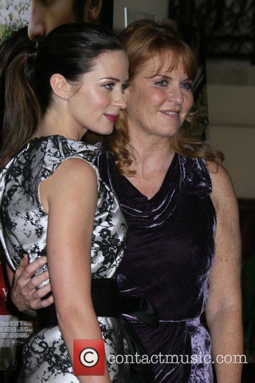 Emily Blunt and Producer Duchess Of York Sarah Ferguson 4