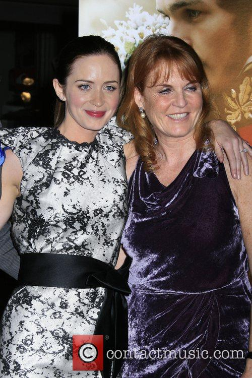 Emily Blunt and Producer Duchess Of York Sarah Ferguson 5