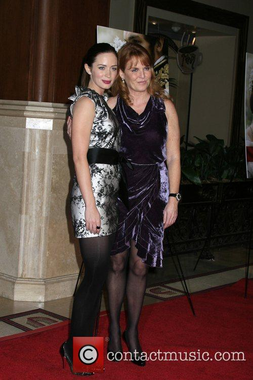Emily Blunt and Producer Duchess Of York Sarah Ferguson 8