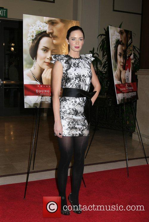 Emily Blunt Los Angeles Premiere of 'The Young...