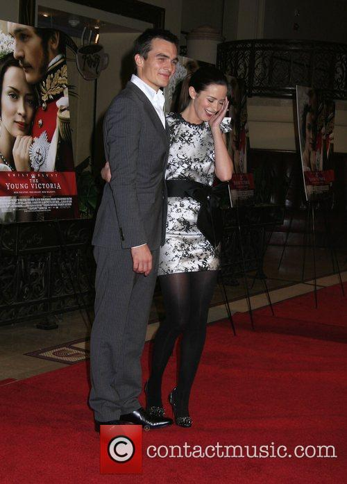 Rupert Friend and Emily Blunt 2