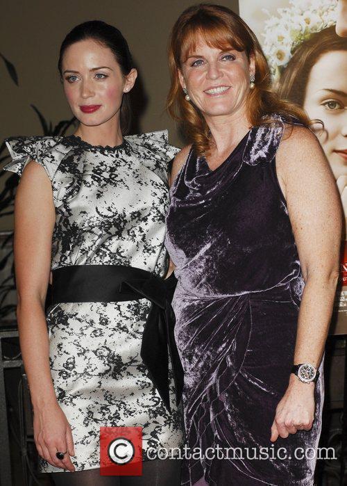 Emily Blunt and Sarah Ferguson Los Angeles Premiere...