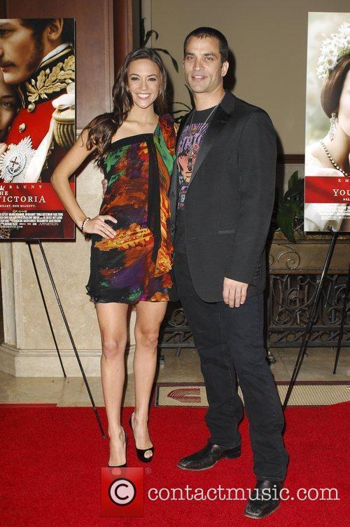 Jonathon Schaech and Jana Kramer Los Angeles Premiere...